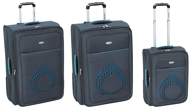 35f8bfb230 Υφασμάτινες βαλίτσες ταξιδιού ZC802 σετ 3 τεμαχίων ...